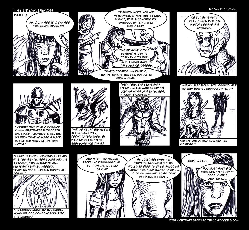 The Dream Demon (Part 9)