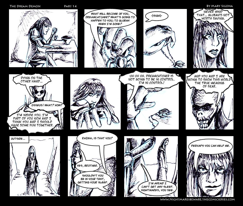 The Dream Demon (Part 14)